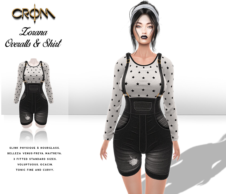 -CroM- Zorana Overalls and Shirt 5 L – LAST DAY!