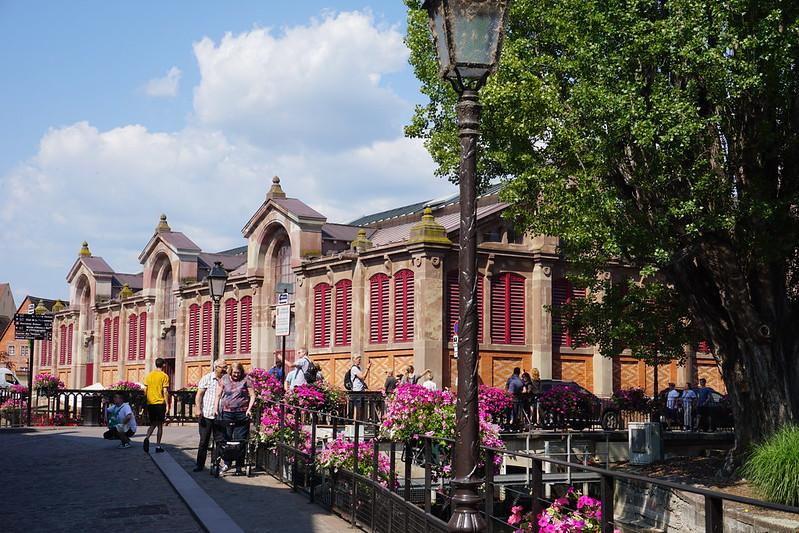 Colmar covered market