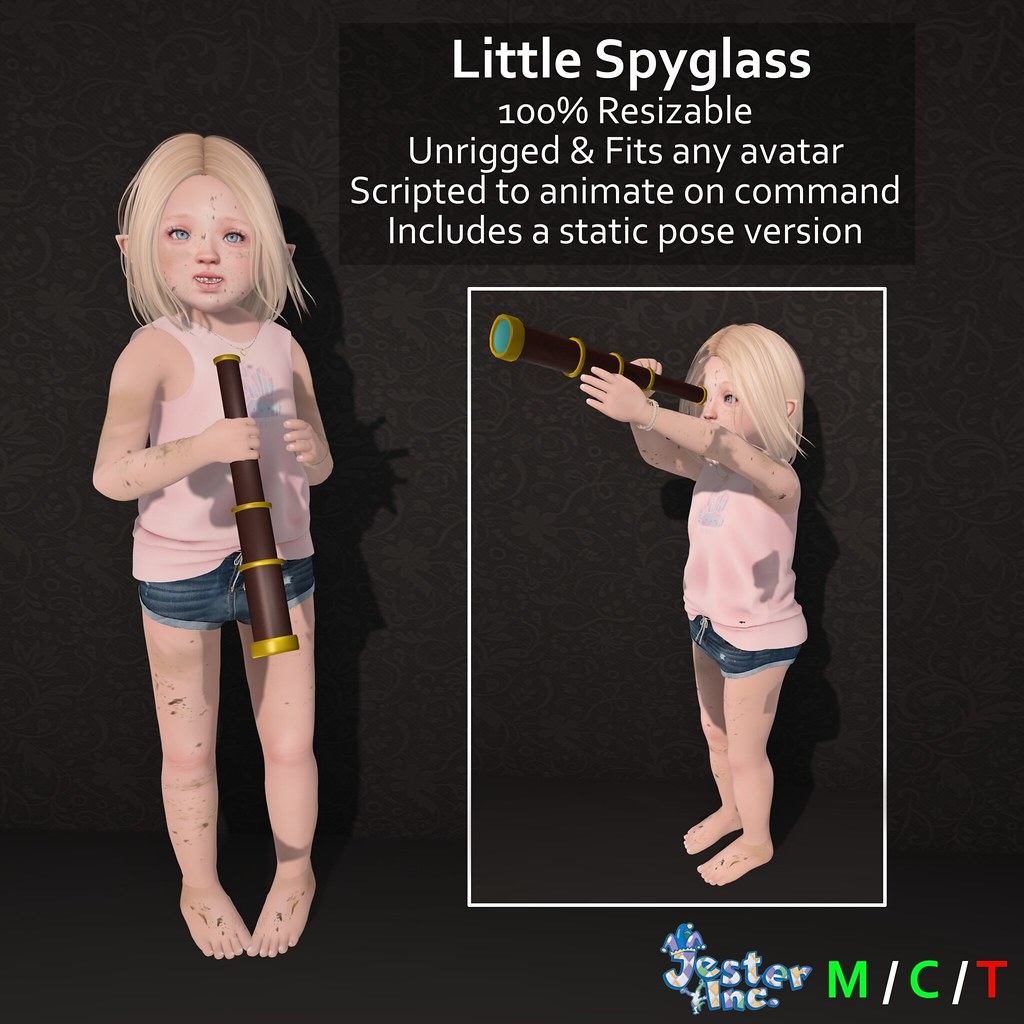 Presenting the new Little Spyglass from Jester Inc.