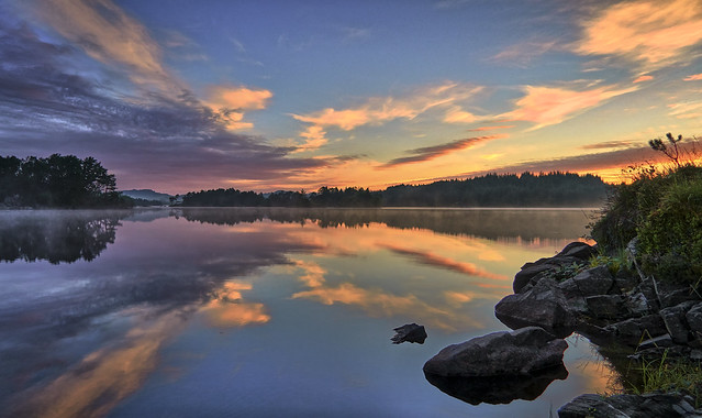 Summer morning, Norway