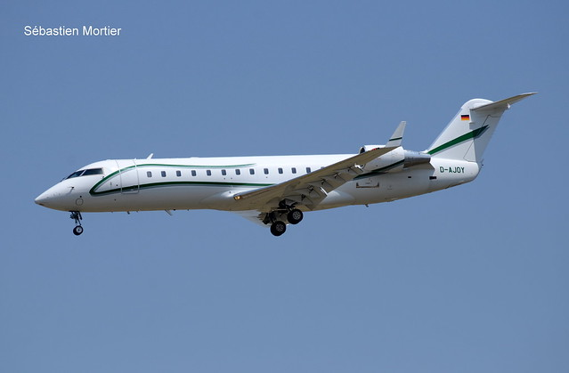 CHALLENGER.850 AIR X CHARTER GERMANY D-AJOY 8069 06 07 19 TLS