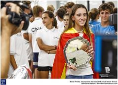 María Perelló, tricampeona del món 2019.