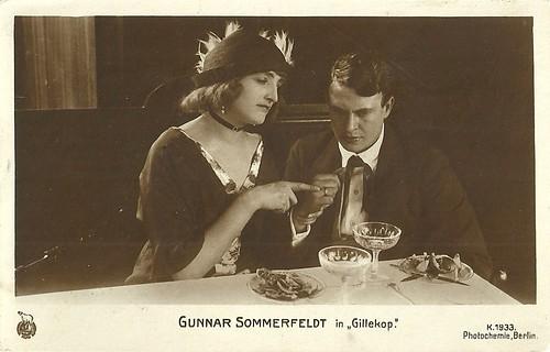 Gunnar Sommerfeldt in Gillekop