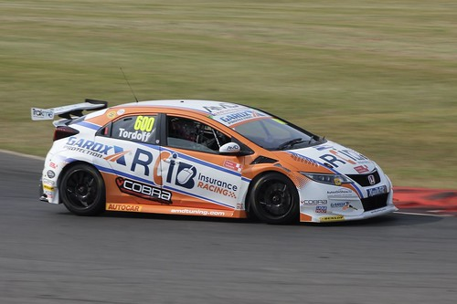 Snetterton BTCC Tyre Test Day 17th July 2019, Honda Civic Type R, Sam Tordoff Photo