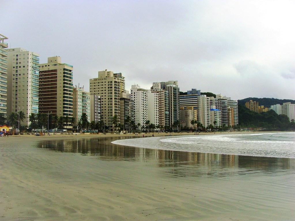 Guarujá-SP Brasil Praia das Astúrias