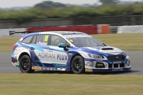 Snetterton BTCC Tyre Test Day 17th July 2019, Subaru Levorg GT, Senna Proctor Photo