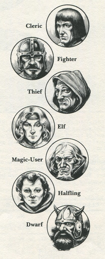 D&D Character Classes by Jeff Easley | Tom Simpson | Flickr