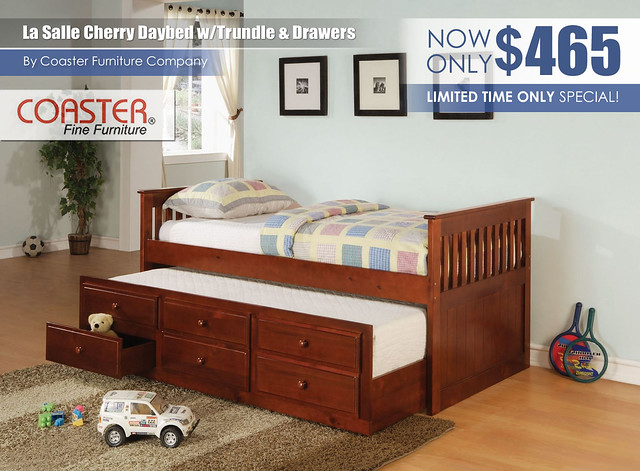 La Salle Cherry Daybed by Coaster Furniture
