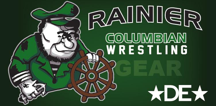 Rainier Columbians Wrestling Gear