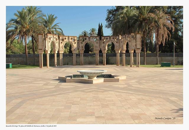 Plaza del Pabellón de Marruecos de la Expo '92, Sevilla