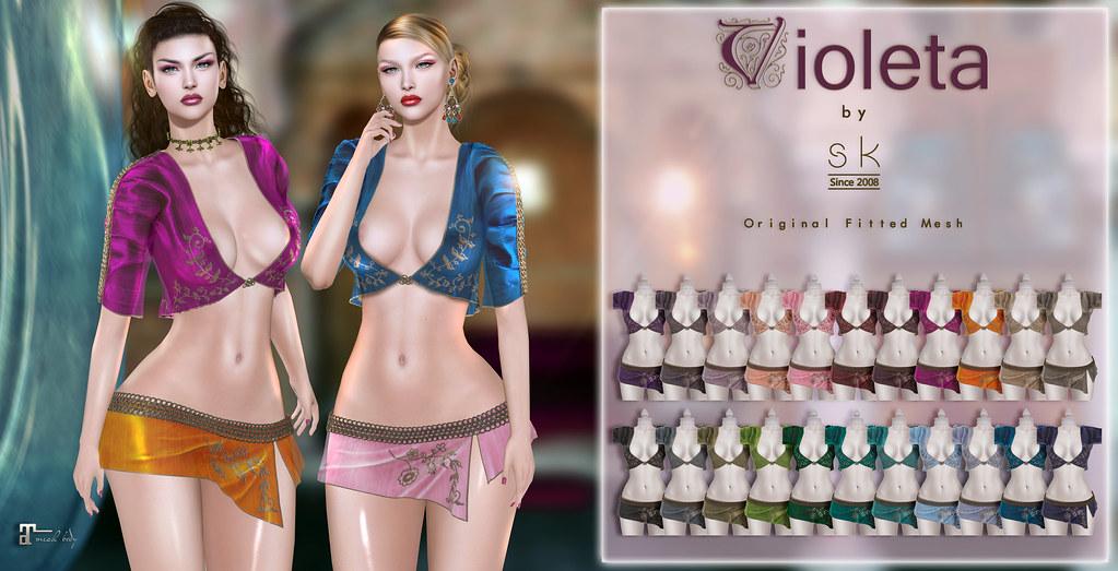 Violeta by SK poster