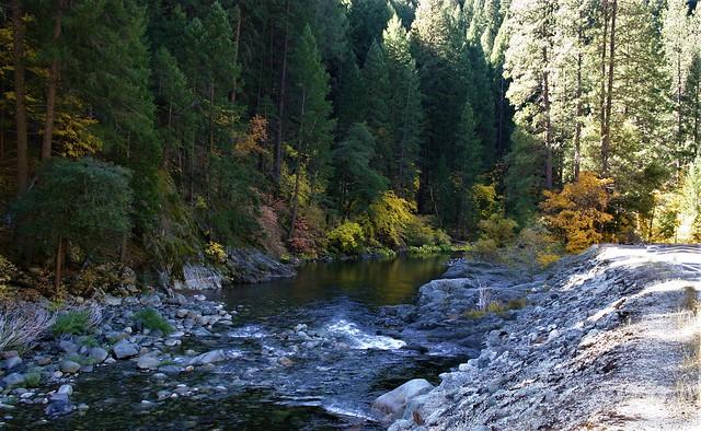 In the High Sierras