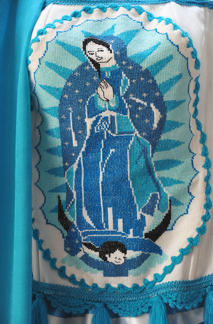Mexico Embroidery Guadalupe Colima Blouse