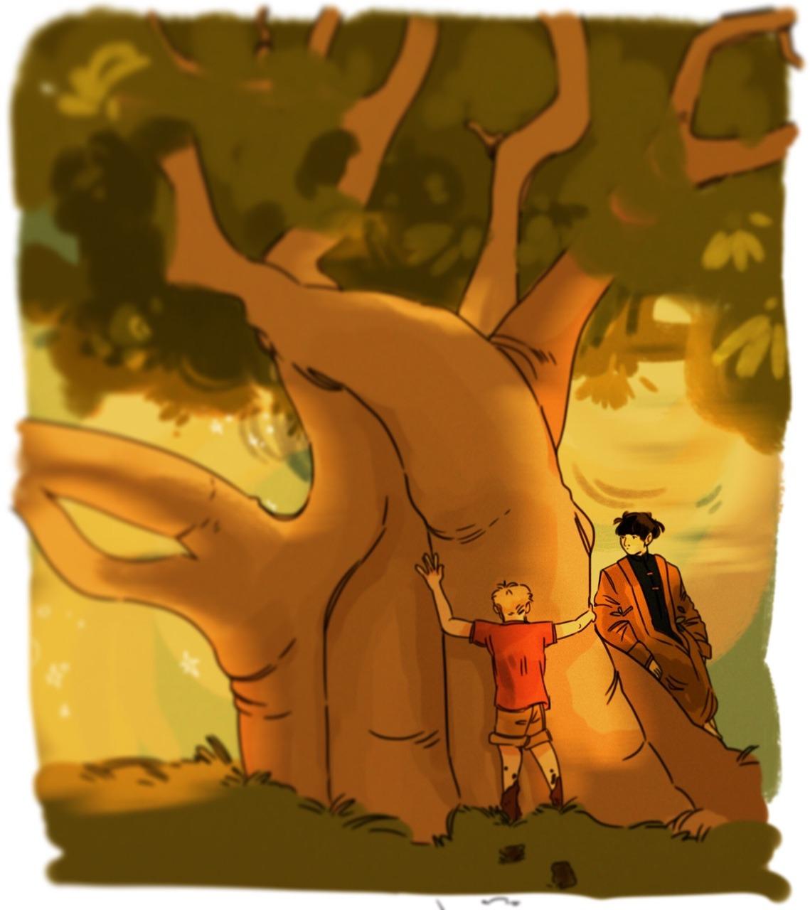 """notants art """"the big-ass tree"""""""