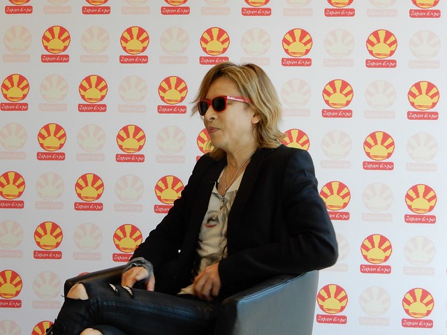 Conférence de presse de Yoshiki à Japan Expo 2019