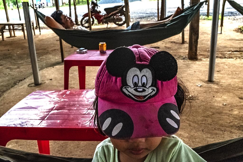 Mickey Mouse baseball cap--Ea Kly