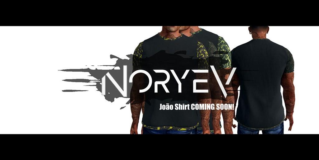 Noryev – João shirt – Coming SOON!!!