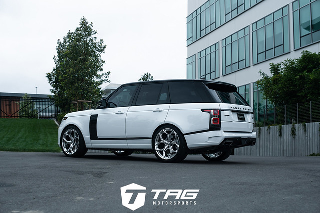 Startech Range Rover with HRE P111SC in Polished Clear
