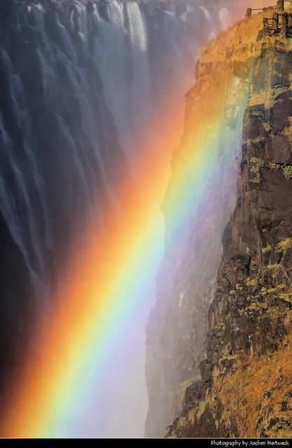 Rainbow, Victoria Falls, Zimbabwe