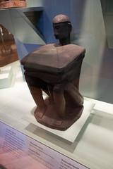 Papua ancestor figure with platform