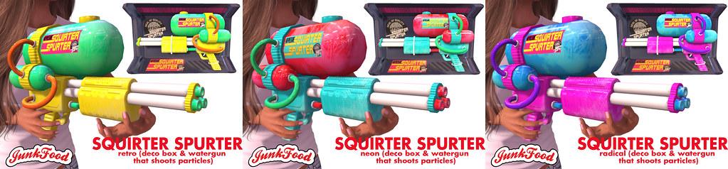 Junk Food – Squirter Spurter Ad