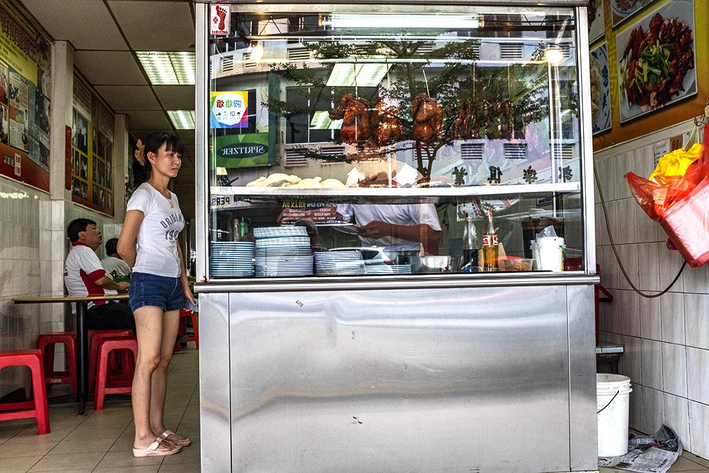 Restaurant with hanging ducks--Taiping