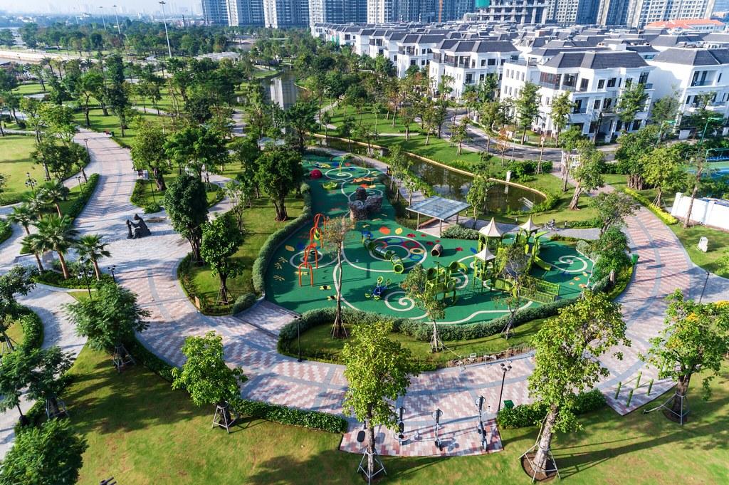 công viên ven sông