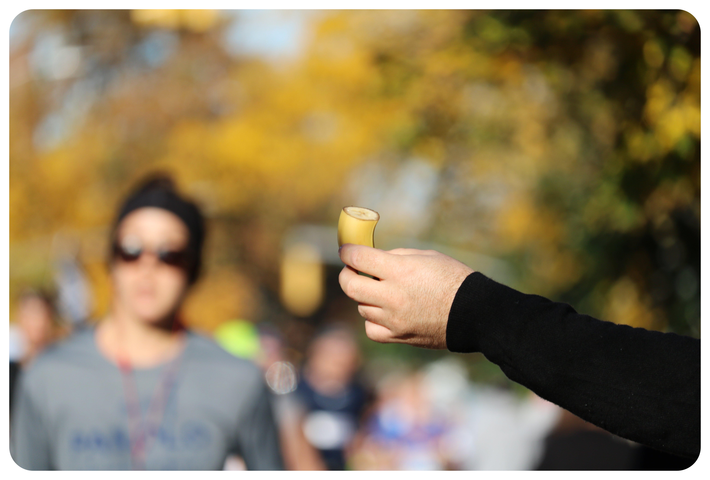 nyc marathon banana