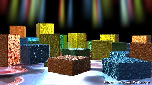 Rainbow Lghts on Boxes 5