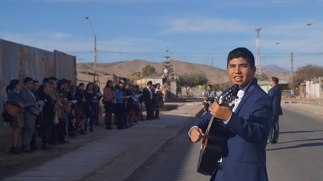 Convención de Juventud Sector 3 en  la Iglesia de Diego de Almagro