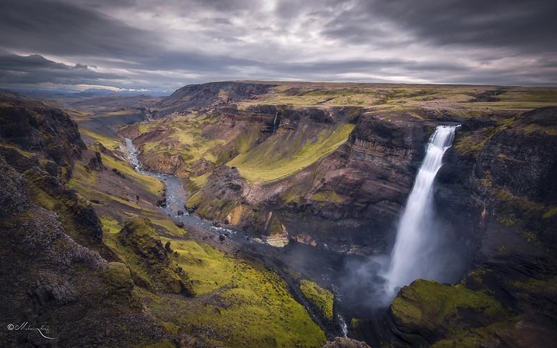 Iceland: Haifoss