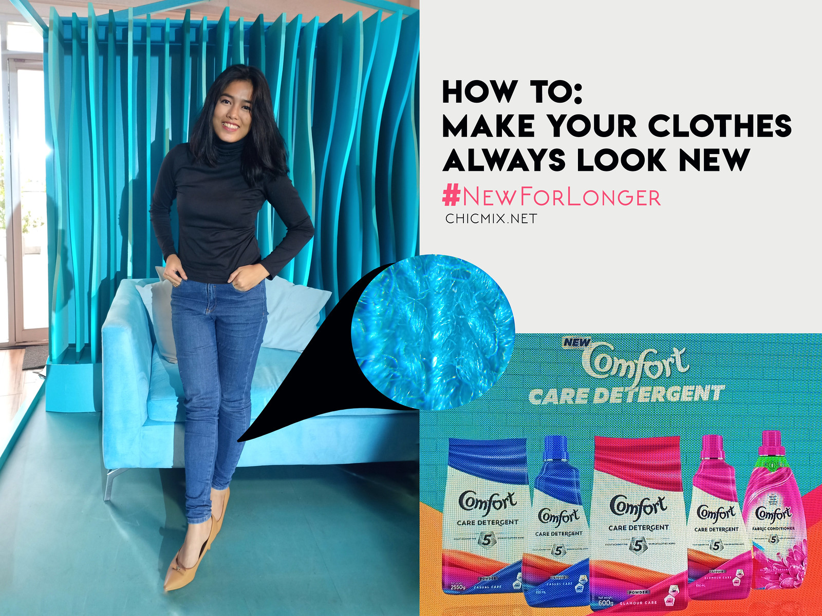 Make your clothes ALWAYS look NEW with this trick | #NewForLonger