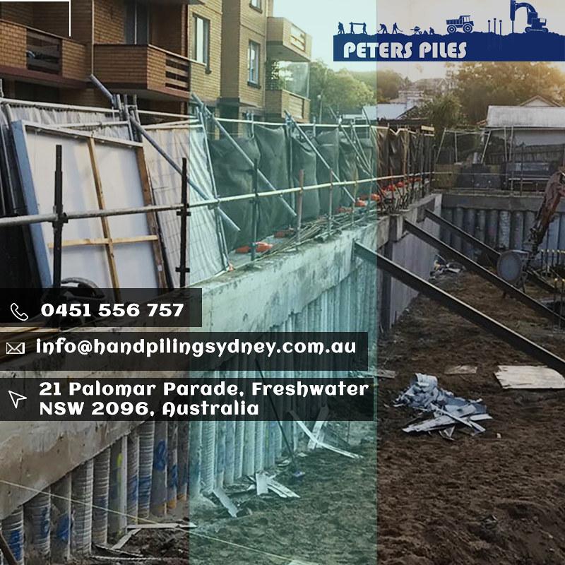 Shoring & Piling Sydney |Peters Piles Australia