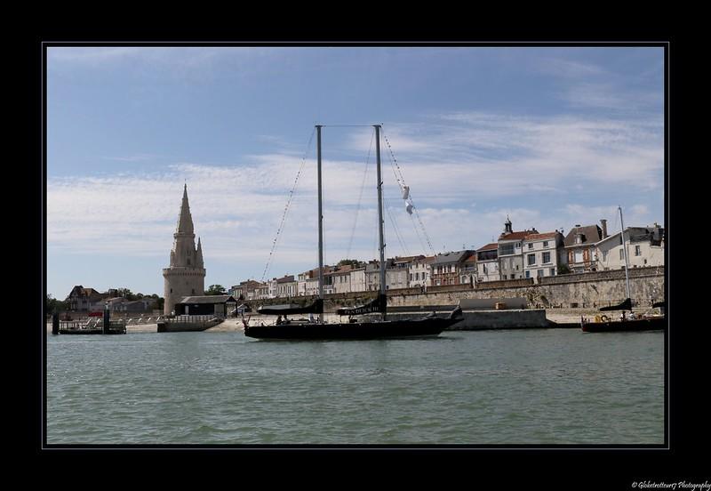 Le Pen Duick III à La Rochelle- Charente Maritime- France.