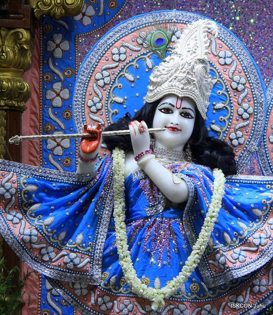 ISKCON Juhu Mangal Deity Darshan on 19th July 2019