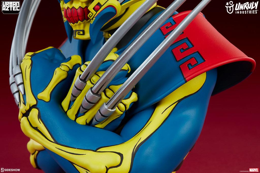 殺氣騰騰! Unruly Industries Marvel【金鋼狼 by Jesse Hernandez】Wolverine by Jesse Hernandez