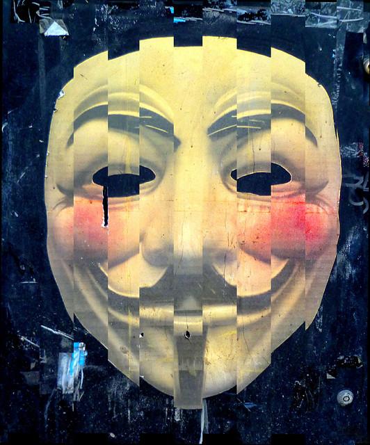V for Vendetta - Graffiti