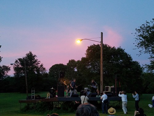 Jackie and the Treehorns at Fort Reno