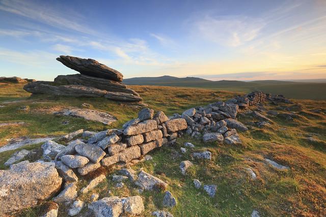 Irishman's Wall - Dartmoor