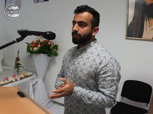 Rev. Ramit Ji, expresses his views