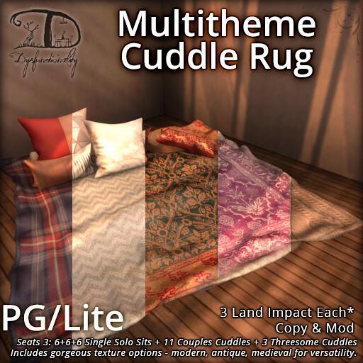 Multitheme Cuddle Rug PGLite