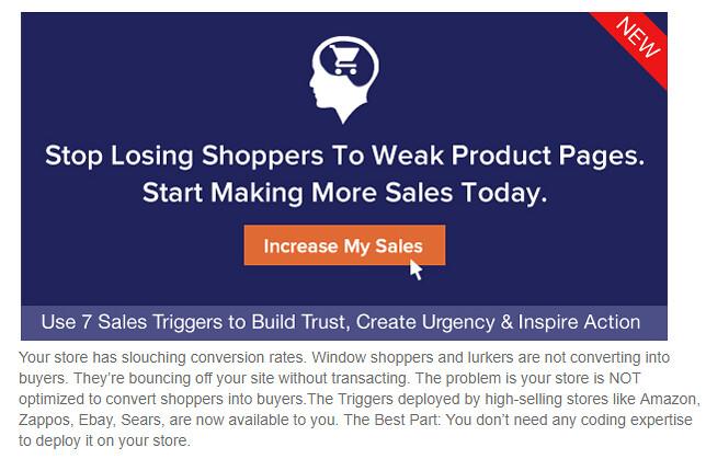 eCom Sales Trigger