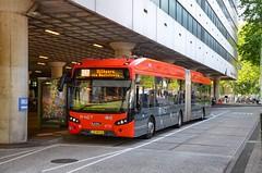 Amsterdam : Les lignes R-Net vers Schiphol s'�lectrisent avec des VDL Citea S-LFA 180 (22.06.2019)
