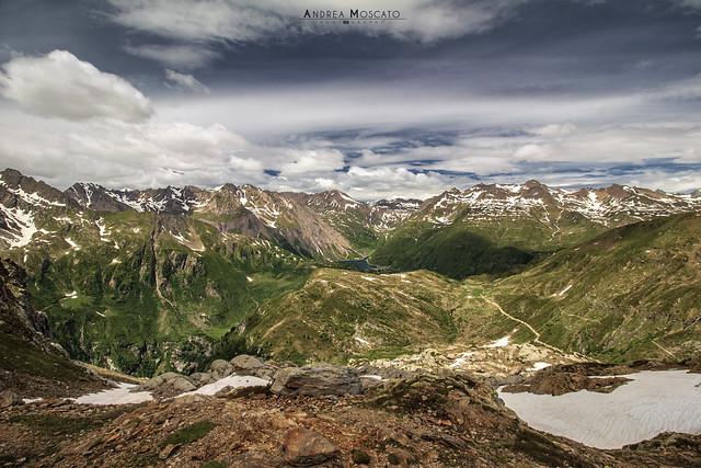 Panorama dal Lago Nero - Alta Val Formazza (Italy)