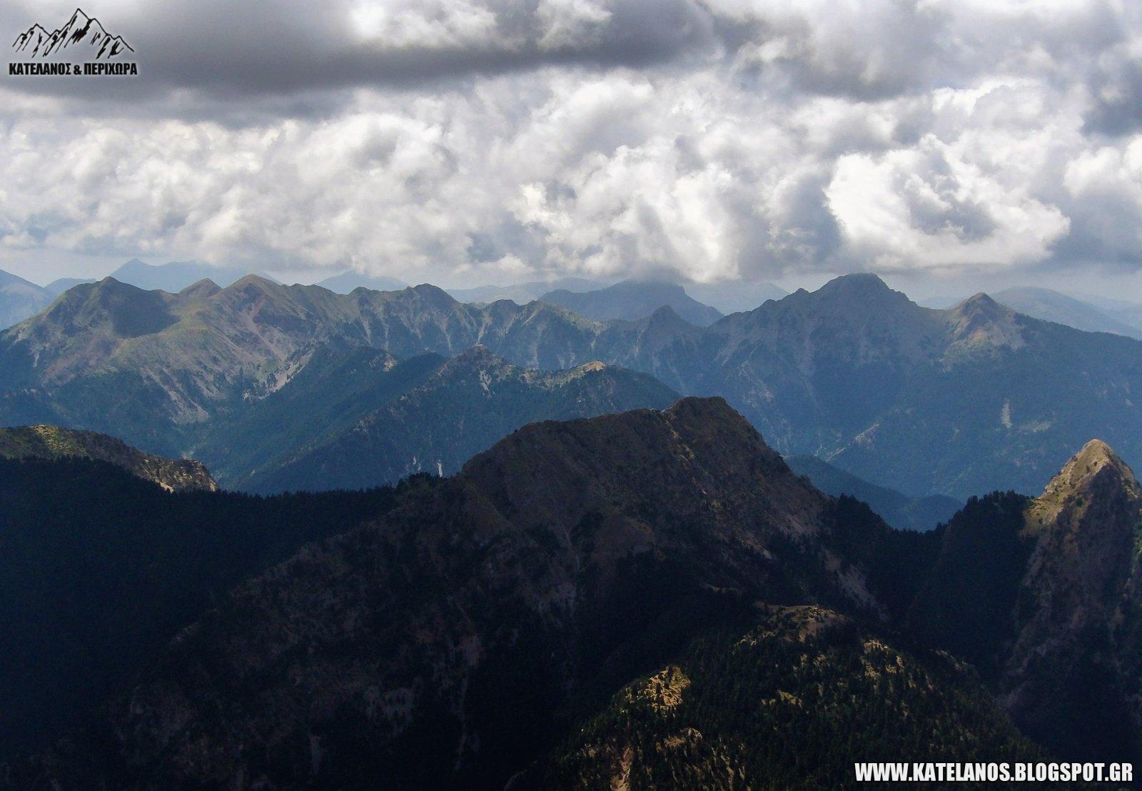 αγρια βουνα οροσειρα παναιτωλικο ορος πλατανι κουκουρεχι κορυφογραμμη