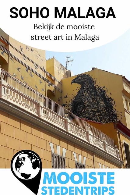 SOHO Malaga, bekijk de mooiste street art in Malaga | Mooistestedentrips.nl