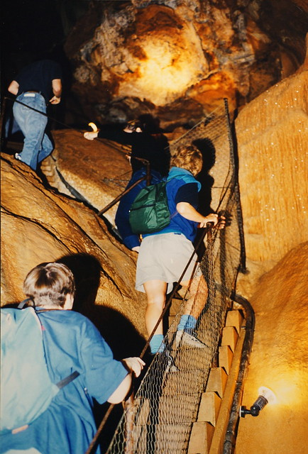 Tourists and ACE in Tourist Cave