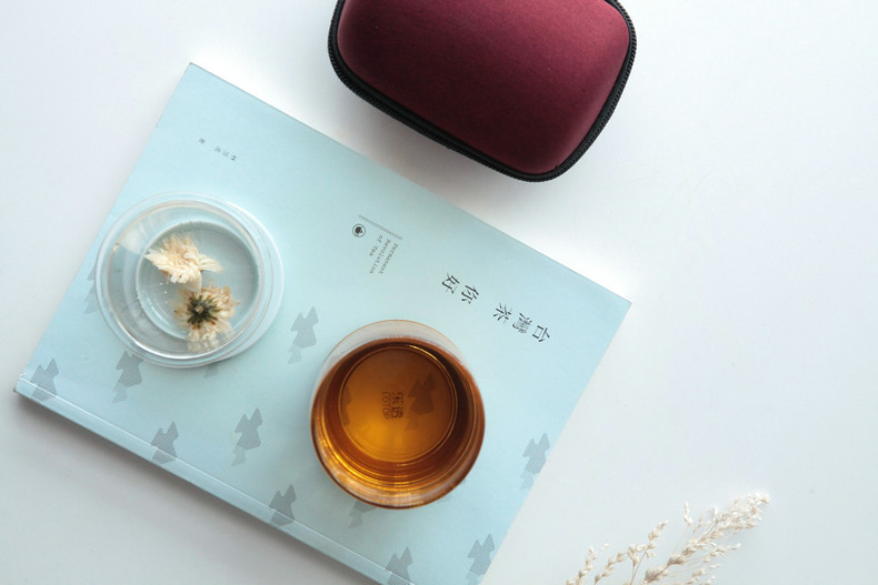 Travel Tea Sets for Chinese Gongfu Tea, Flower Tea