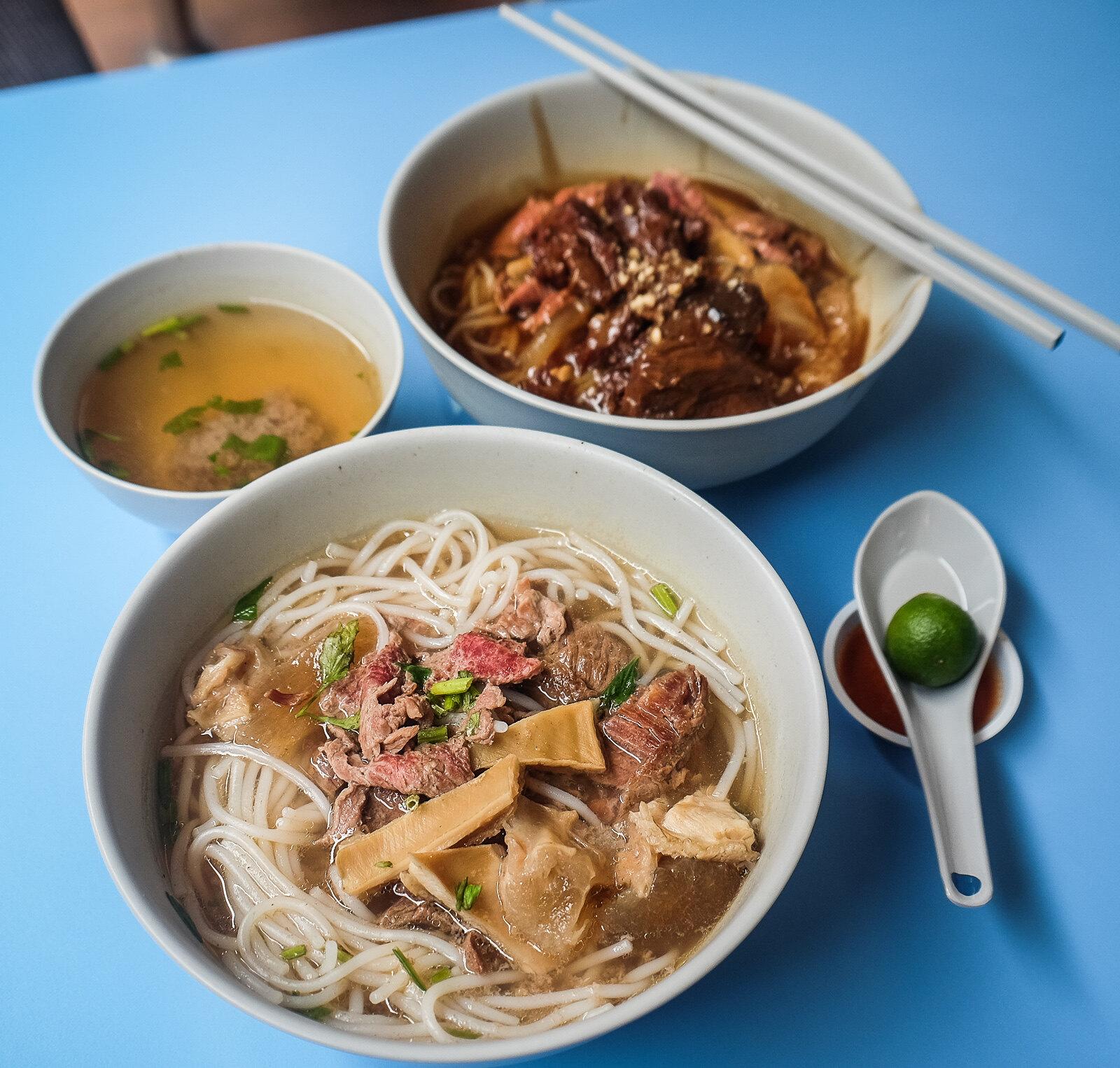 Beef noodle Singapore - Kheng Fatt Hainanese Beef Noodles