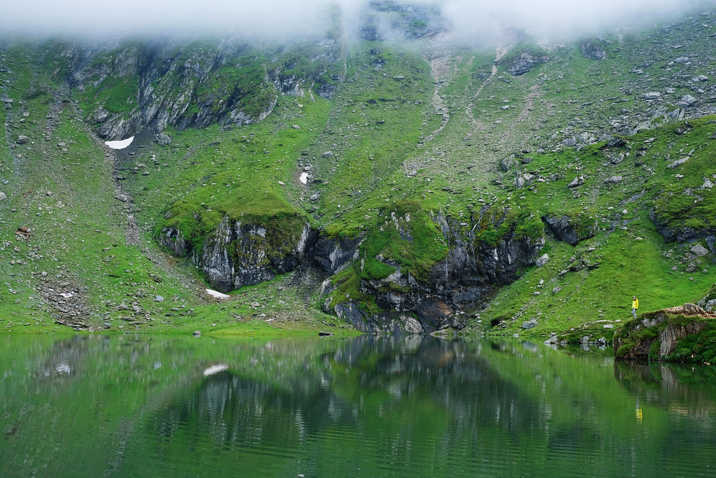 Lake Bâlea, Romania